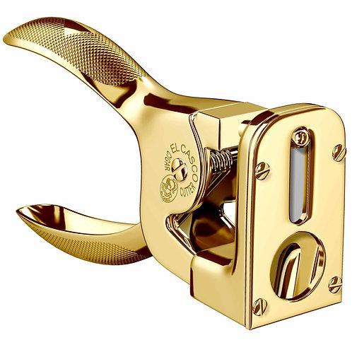 El Casco 23K Gold Plated Cigar Cutter