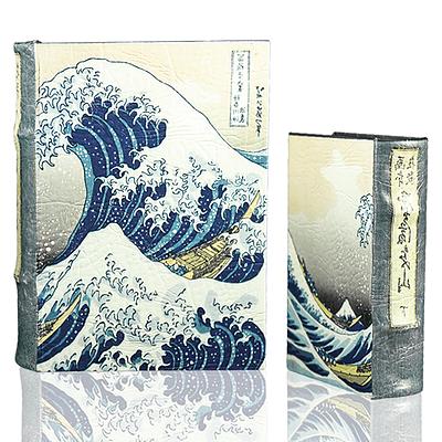 Hokusai's Great Wave Book Box (2 Sizes)