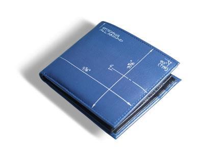 ACME Studios Blueprint Billfold + Coin Wallet