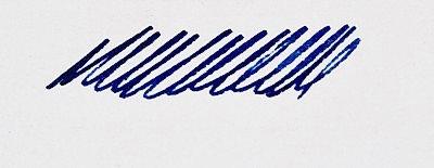 3 Oysters HMJE Min/Cobalt Blue ink