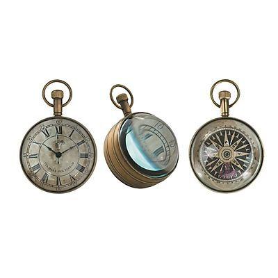 Eye of Time Clock, Bronze