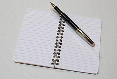 """Clairefontaine Basics 3.5x5.5"""" Black Wirebound Notebook"""