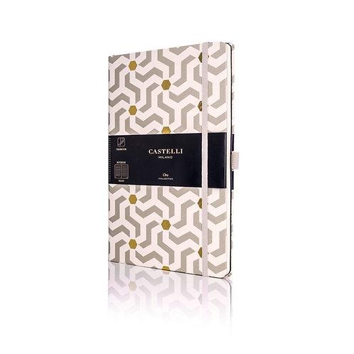 Castelli Oro A5 Medium Ruled Notebook