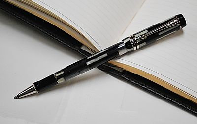 Parker Duofold Black Mosaic Rollerball