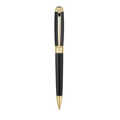 S.T. Dupont Line D Medium Black/Gold Ballpoint