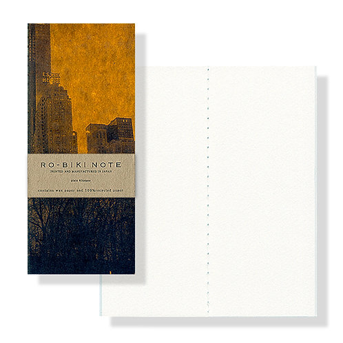 Yamamoto Ro-biki Notebook NY Series - The Park (Blank Pages)