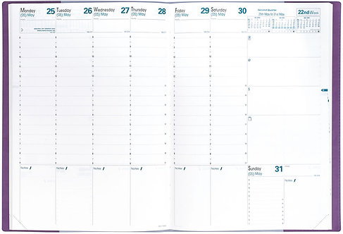 Quo Vadis Prenote 2020 Planner with Texas cover