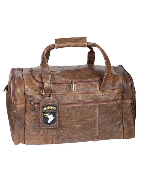 Scully Squadron Leather Duffle Bag