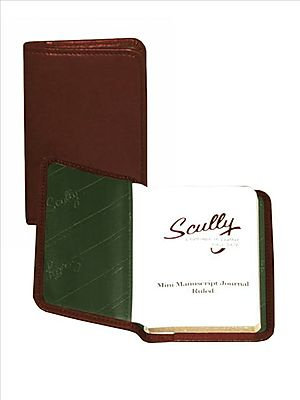 Scully Italian Leather Ruled Personal Notebook