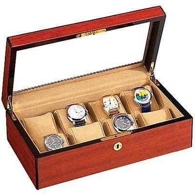 Vox Luxury 8 Display Watch Box