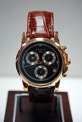 Cross Milan Chronograph Brown/Brown Leather Band