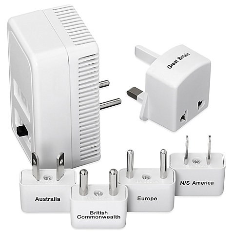Go Travel Worldwide Adaptor Kit + Dual Converter