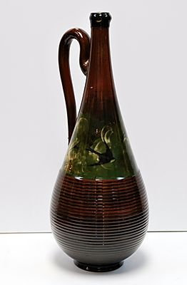 Rookwood Gourd Shaped Pitcher - McDonald, 1882