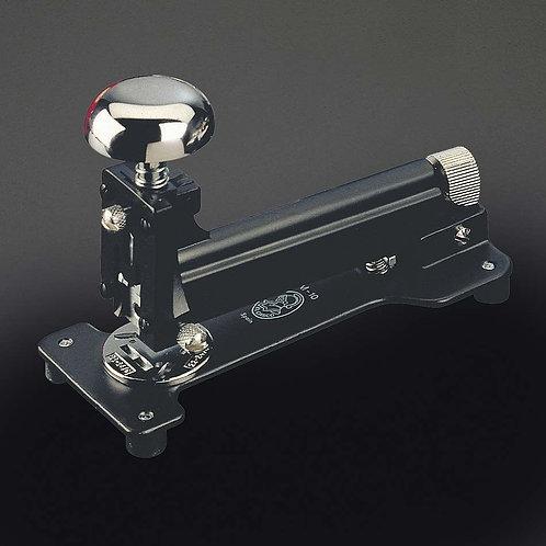 El Casco Black Lacquer & Chrome M-10 Desk Stapler