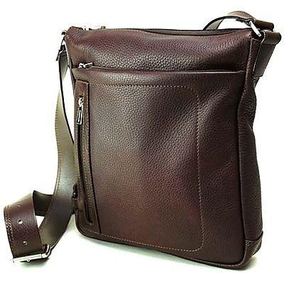 Chiarugi Unisex A4 Shoulder Bag