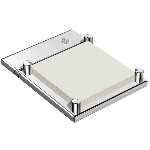 El Casco Chrome Plated Sticky Note Holder M671