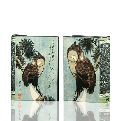 Hiroshige Owl Book Box