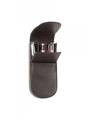 Aston Leather Pen Box for 3 Pens