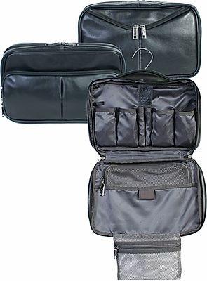 Scully Soft Plonge Leather Travel Kit
