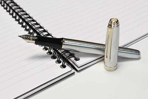 Sheaffer Prelude Brushed Chrome Fountain Pen