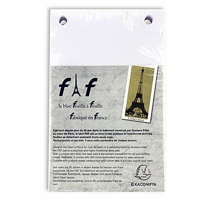 Exacompta FAF Blank Refill Pads - Large