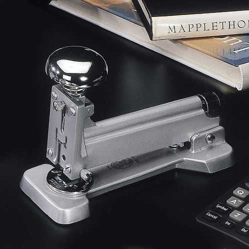 El Casco Grey & Chrome M-30 Desk Stapler