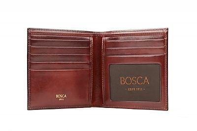 Bosca Old Leather I.D. Hipster Credit Wallet