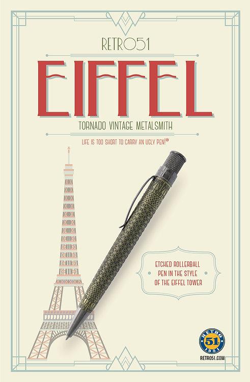 Retro 1951 Eiffel Vintage Metalsmith Tornado Rollerball Pen