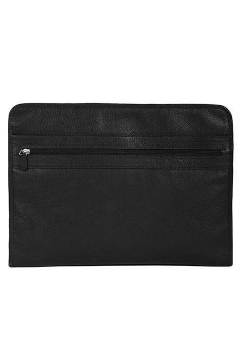 Scully Double Zippered Business Portfolio