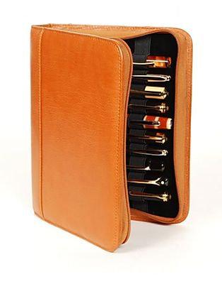 Aston Leather 20 Pen Case