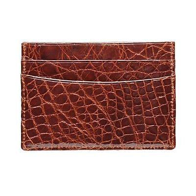 Trafalgar Alligator Slim Card Case