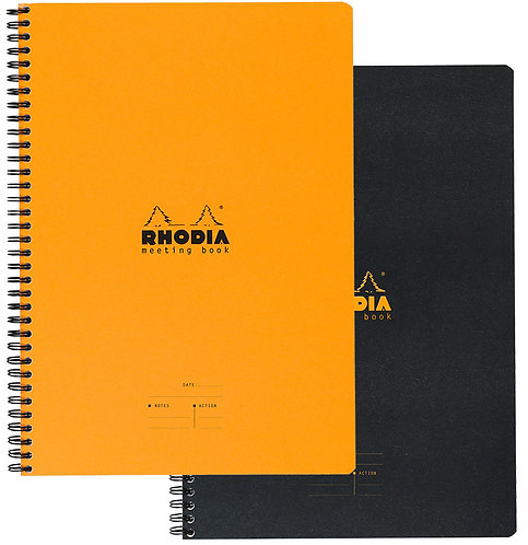 "Rhodia Classic Meeting Book - A4 (9"" x 11.75"")"