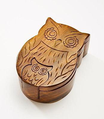 Mama Owl Puzzle Box