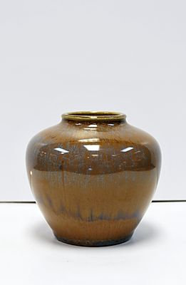 Rookwood Bud Vase - Brown/Blue, 1932