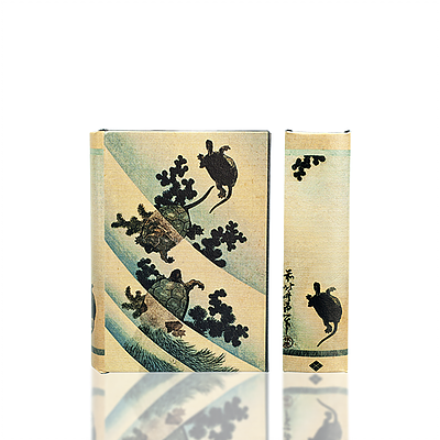 Hokusai's Swimming Turtles Book Box