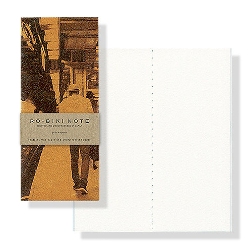Yamamoto Ro-biki Notebook NY Series - The Station (Blank Pages)