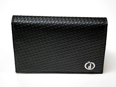 Dunhill Micro D-Eight Business Card Case Wallet