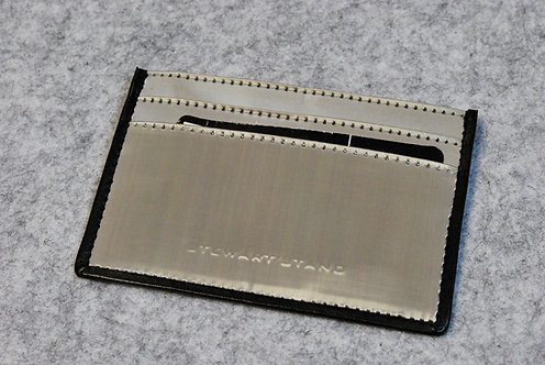 Stewart/Stand Leather Accent 3-Slot Wallet