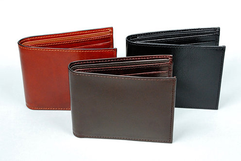Capitol Billfold with Leather Lining