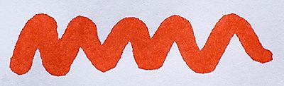 Diamine Vermillion Ink