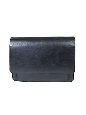 Scully Large Messenger Bag - Black