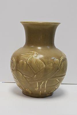 Rookwood Heron Vase, 1935