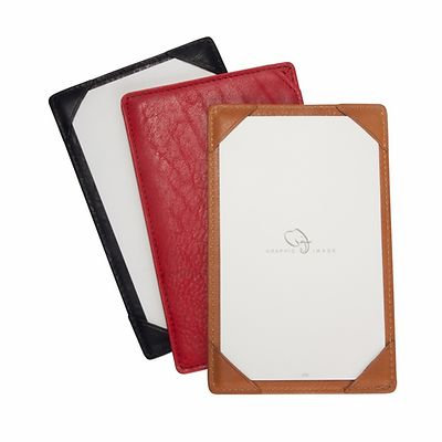 Graphic Image Traditional Leather Jotter