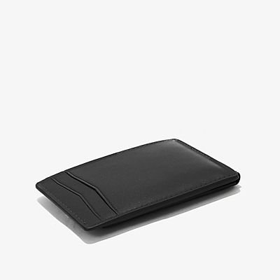 Trafalgar Magnetic Front Pocket Wallet - Black
