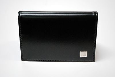 Dunhill 2-tone Business Card Case Wallet