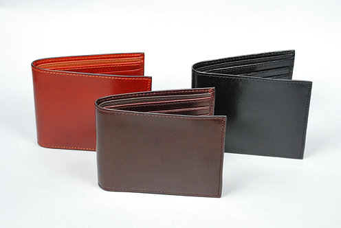 Capitol Billfold with Extra Page & Leather Lining