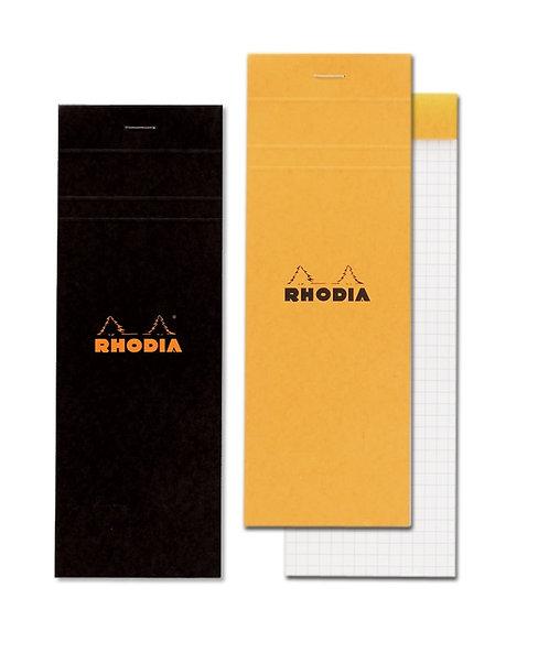 """Rhodia No. 8 Graph Pad (3 x 8 ¼"""")"""