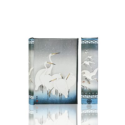 White Herons in Falling Snow Book Box