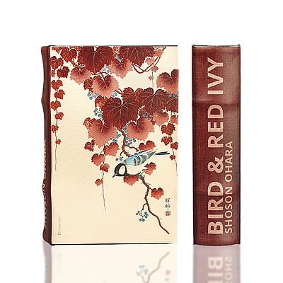 Bird and Red Ivy Book Box