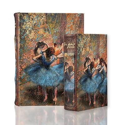 "Degas ""Blue Dancers"" Book Box (2 Sizes)"